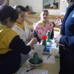 Science Club - a volcanoe