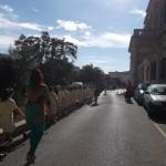 walking towards Balluta Church1