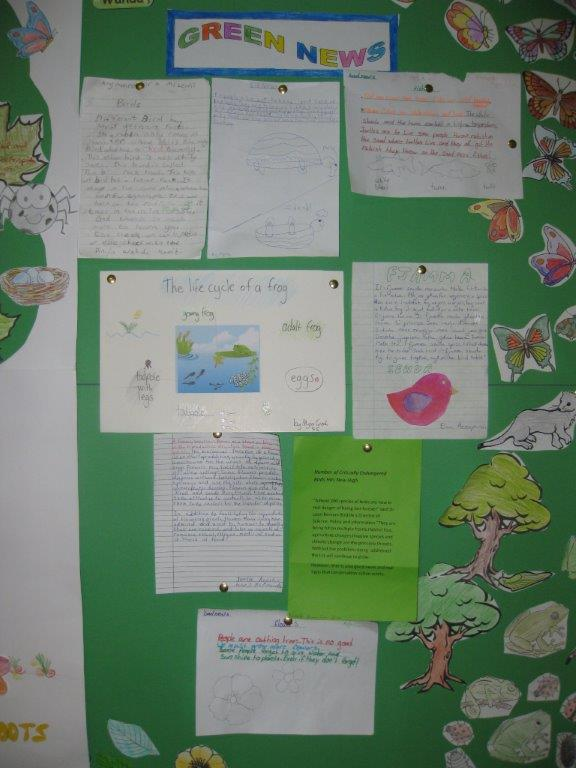 Noticeboard 2nd term